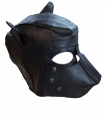 Premium BDSM leather Hood DOG Play