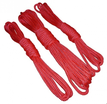 bondage ropes basic red