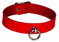 Leather Collar red