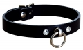 Leather Collar with O-Ring and 2...