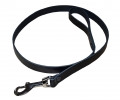 leather Leash black
