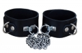BDSM Hand Cuffs with Chain
