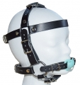 Premium BDSM pacifier head harness